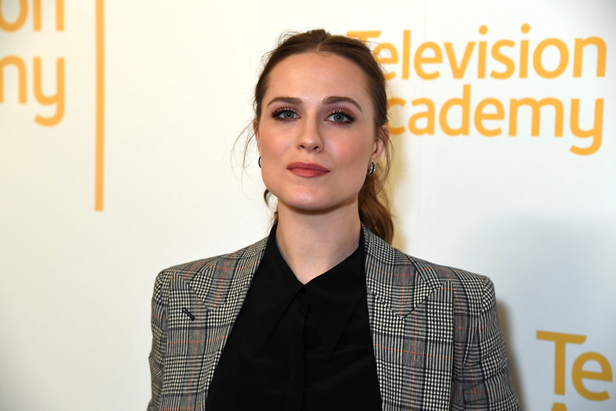 NORTH HOLLYWOOD, CALIFORNIA - MARCH 06: Evan Rachel Wood attends the screening & panel discussion of the HBO drama series