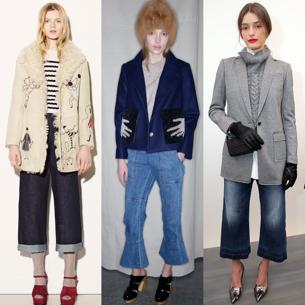 Which Label Mastered Cropped Wide-Leg Denim? | Cropped Wide-Leg ...