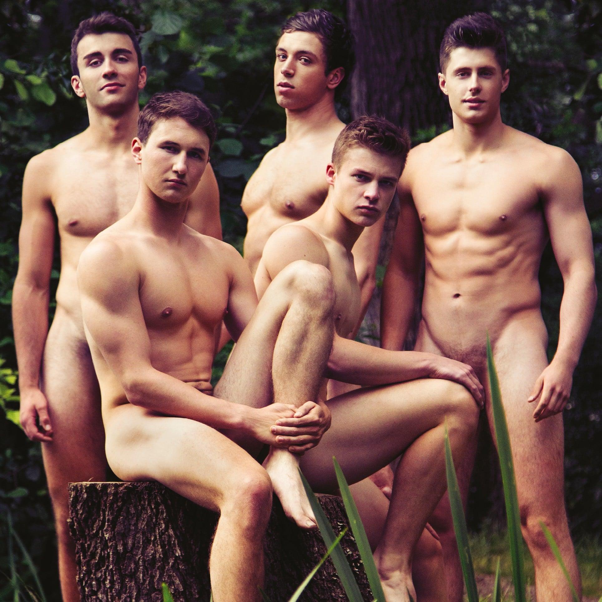 Naked Male Calendar