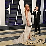 Judd Apatow and Leslie Mann at the Vanity Fair Oscars Party