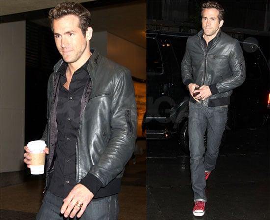 Ryan in Black Leather