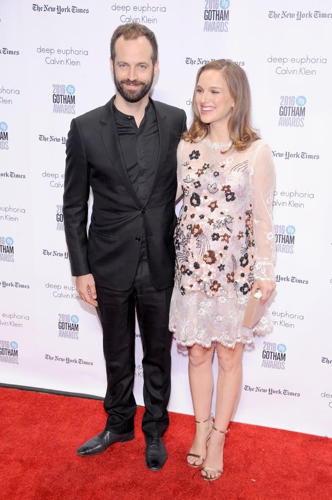 Natalie Portman and Benjamin Millepied at Gotham Awards 2016