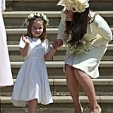 When Princess Charlotte Put That Royal Wave to Good Use