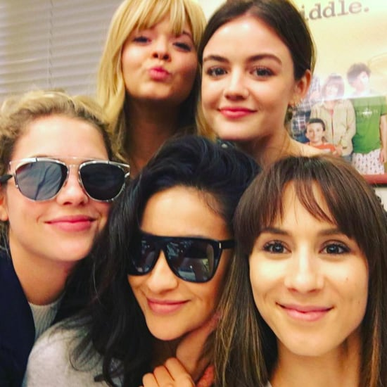 Pretty Little Liars Cast Reads Finale Script Pictures
