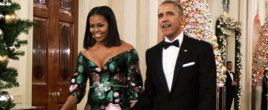Barack and Michelle Obama Show Sweet PDA as They Attend the Kennedy Center Honors