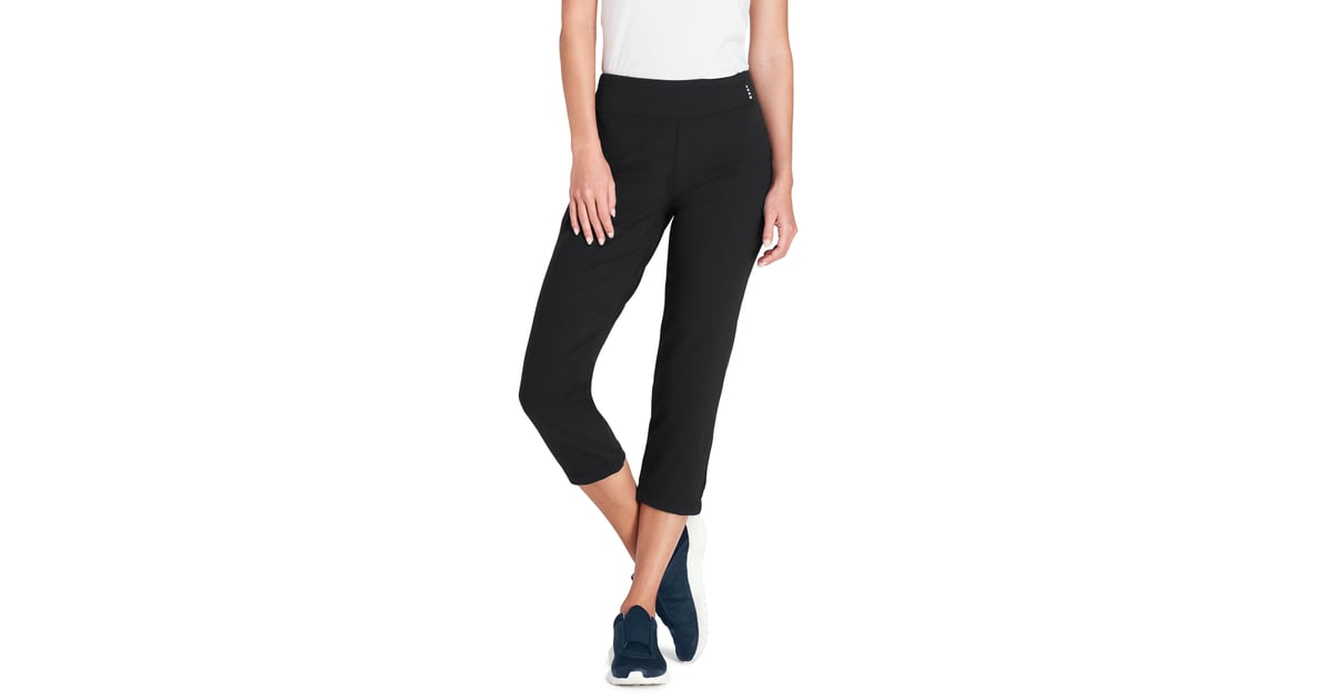7780c9cb59dab Lands' End Women's Tall Active Crop Yoga Pant | The 15 Most Flattering Yoga  Pants For All the Tall Women Out There | POPSUGAR Fitness Photo 12
