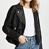 Our Pick: Madewell Washed Leather Motorcycle Jacket