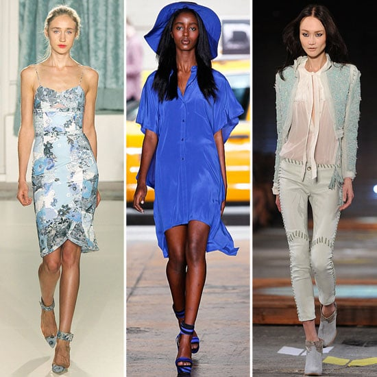 Spring 2012 Colour Report: Shades of Blue