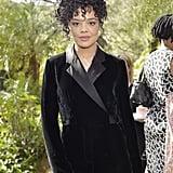 Tessa Thompson at the 2020 Diane von Furstenberg Oscars Luncheon