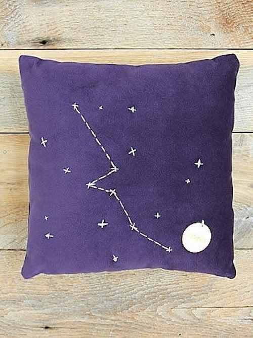 Taurus Star Sign Pillow ($98)