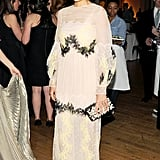 Laure Heriard Dubreuil wore Valentino at Art Production Fund's Gala in New York. Source: Billy Farrell/BFAnyc.com