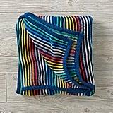 Rainbow Blend Knit Blanket