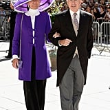 Prince Philipp and Princess Isabelle of Liechtenstein attended the royal wedding in France.