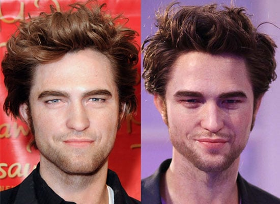 UK Poll and Photos of Both Madame Tussauds Waxworks Which Robert Pattinson Waxwork is More Realistic — New York or London?