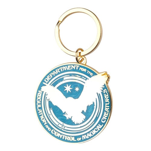 Department For the Regulation and Control of Magical Creatures Key Chain ($8)