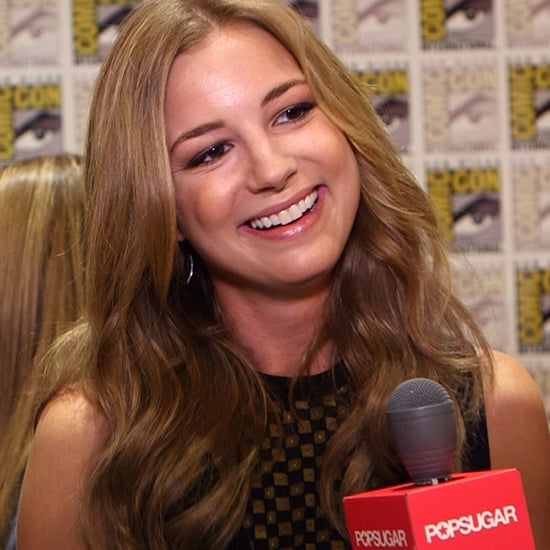 Emily VanCamp Interview For Captain America 2