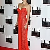 Kate Hudson had a knockout moment in this fiery Stella McCartney gown at the Elle Style Awards in London.