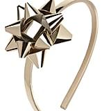 Kate Spade Gold Bow Headband