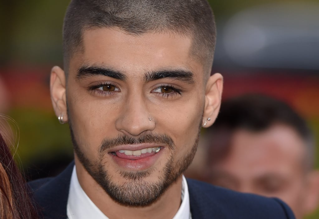 A Widows Peak Close Up Zayn Malik Shaved Head POPSUGAR - Which zayn malik hairstyle are you based on your zodiac