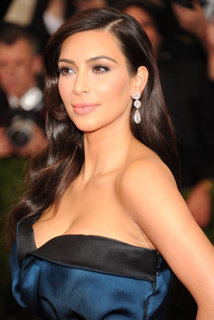 Kim Kardashian U0026 39 S Hair And Makeup At The 2014 Met Gala