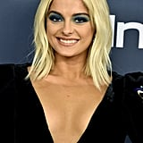Bebe Rexha's Flipped Out Lob at the 2020 Golden Globes