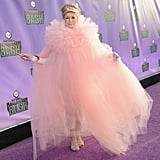 Martha Stewart played the part of do-good fairy Glinda the Good Witch at Hub Network's Halloween bash in 2013.
