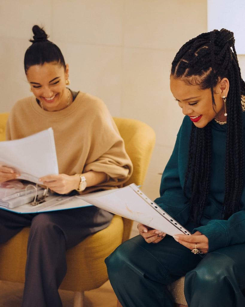 Rihanna's FENTY Launches Shoes Designed With Amina Muaddi