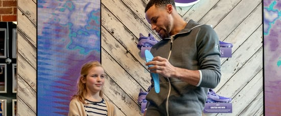 Steph Curry Sneakers For Girl on International Women's Day