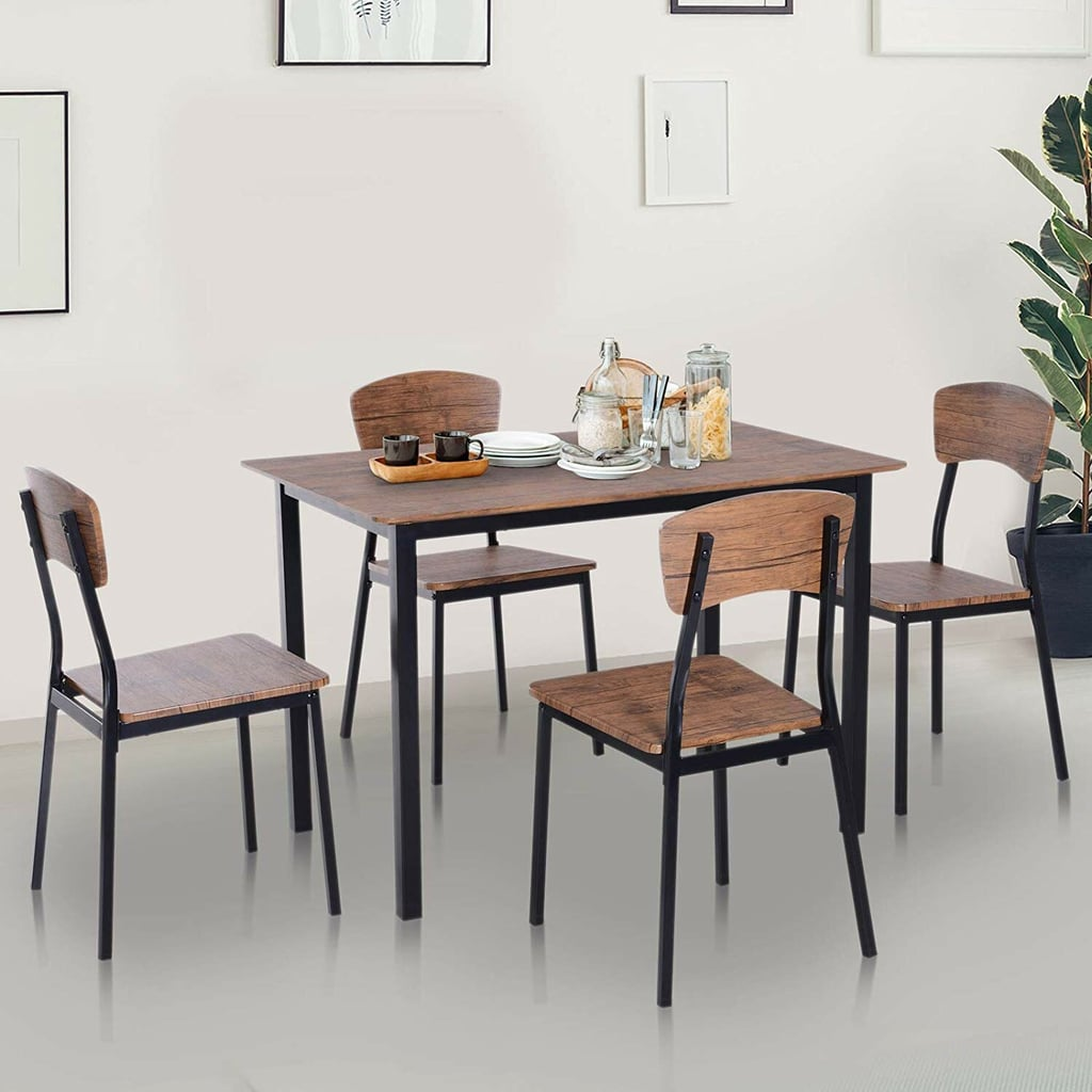 For Dining, Entertaining, and More: Union Rustic Castellanos 4-Person Dining Set