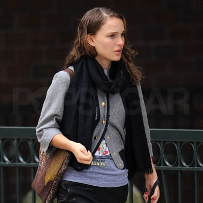 Natalie Portman and Her Dog Out in NYC