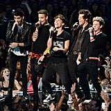 One Direction at the MTV Video Music Awards in 2013