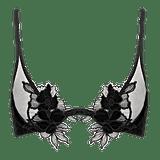 Lassuria High Apex Velvet Plunge Bra
