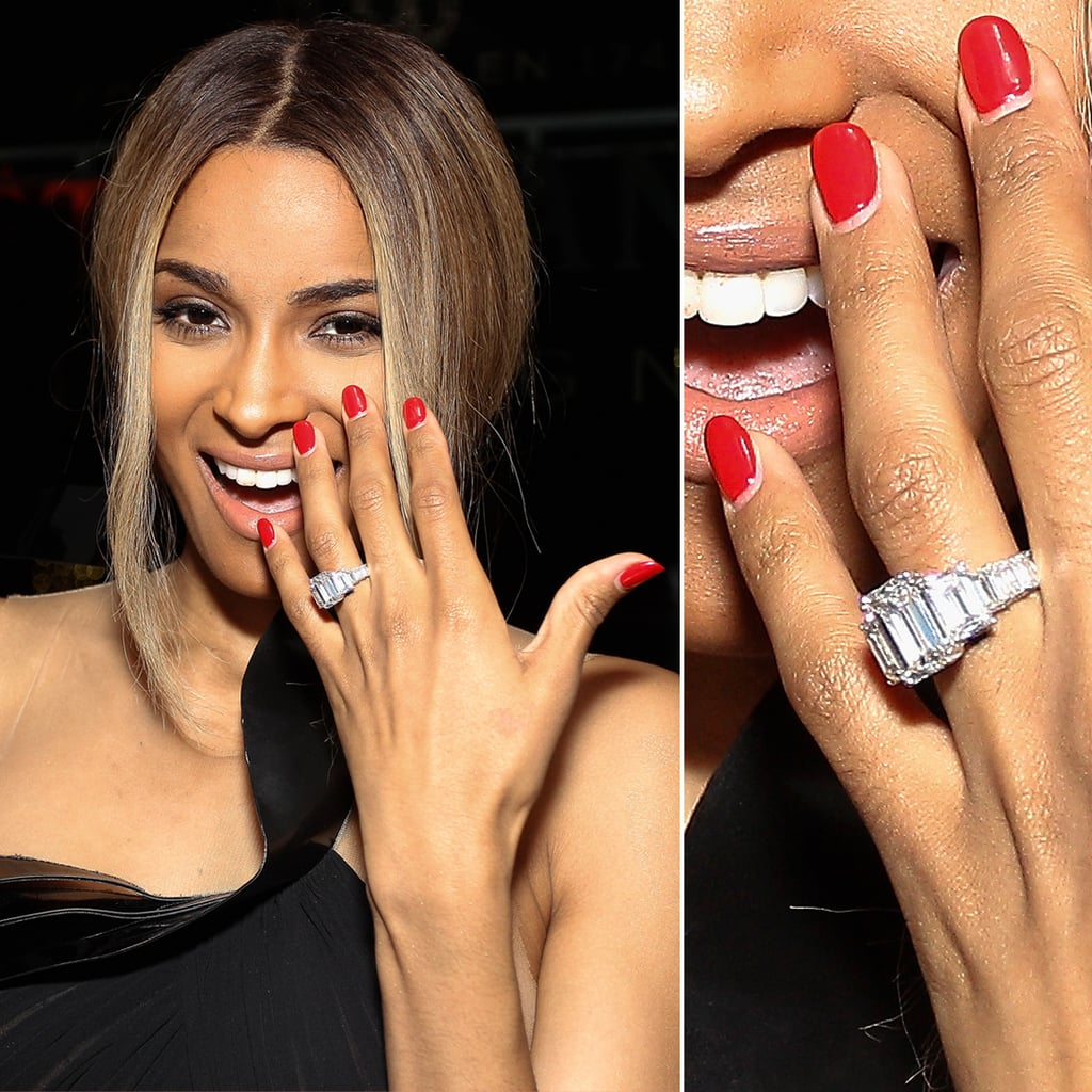 designer celebrity famous rings ring engagement best ciara