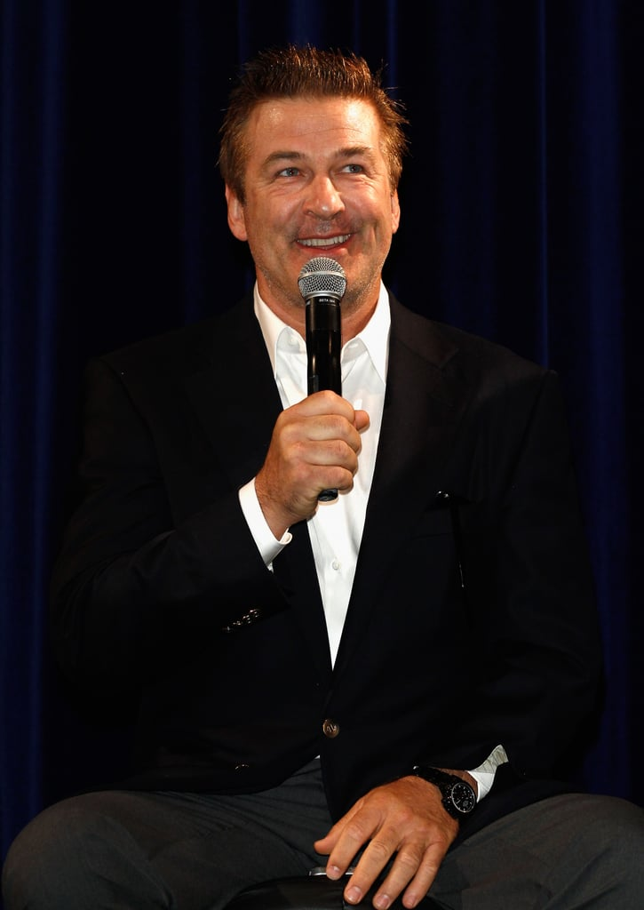 Alec Baldwin shared his thoughts about Rise of the Guardians.