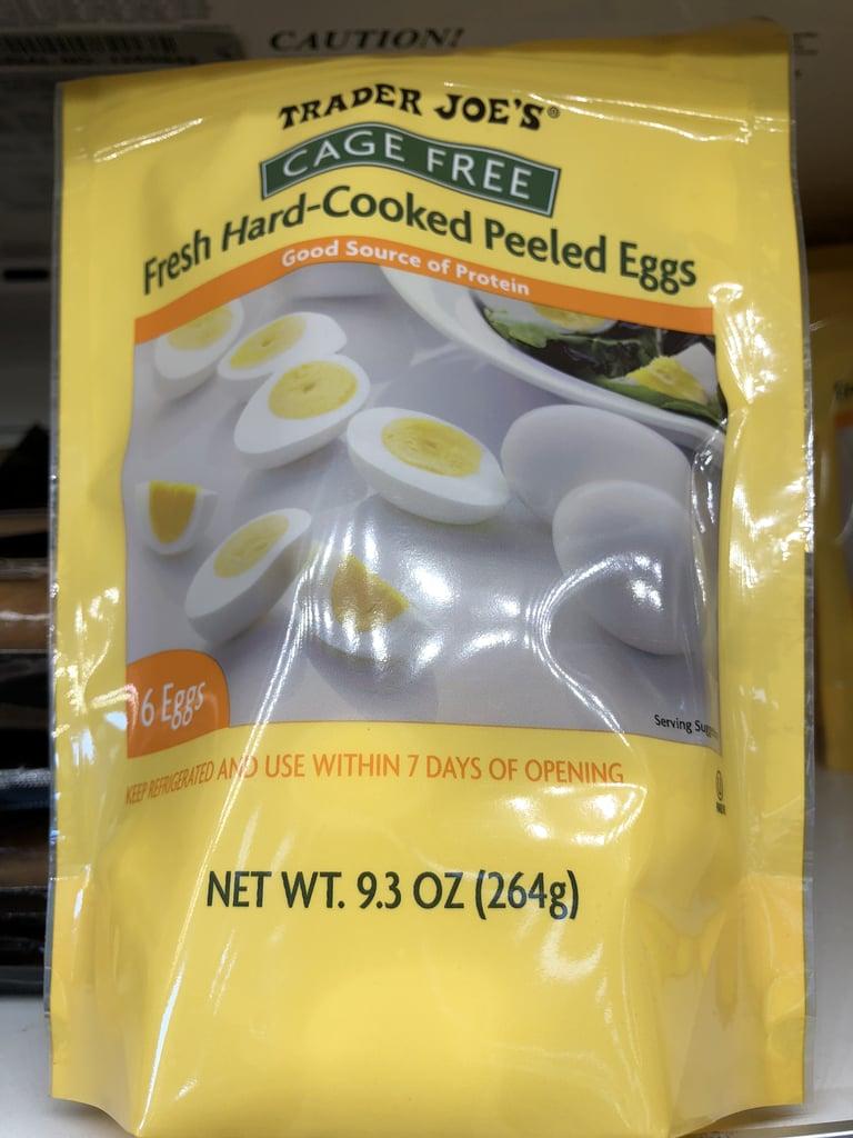 Hard-Boiled Peeled Eggs