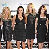Camille Grammer, Kim Richards, Kyle Richards, Adrienne Maloof-Nassif, Lisa Vanderpump, and Taylor Armstrong at NBC party.