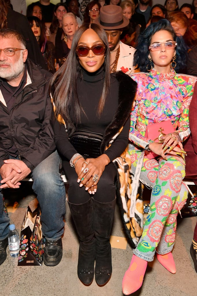 Pictured: Naomi Campbell and Sita Abellan