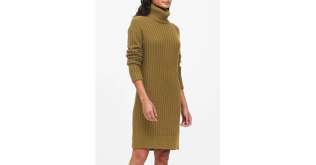 Chunky Turtleneck Sweater Dress The Best Things On Sale At Banana Republic Popsugar Fashion Australia Photo 10