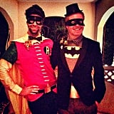 Jesse Tyler Ferguson and Justin Mikita showed us how to do low-maintenance Batman and Robin in 2013.