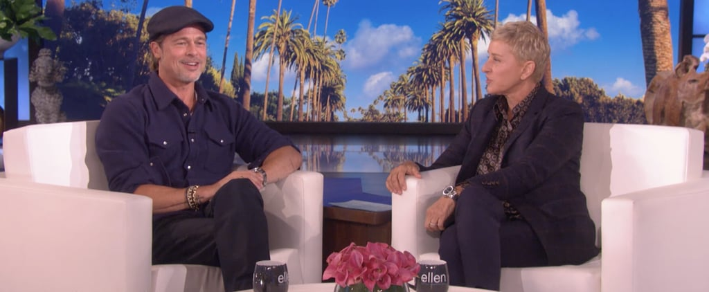 Bratt Pitt and Ellen DeGeneres Talk About Ex-Girlfriend