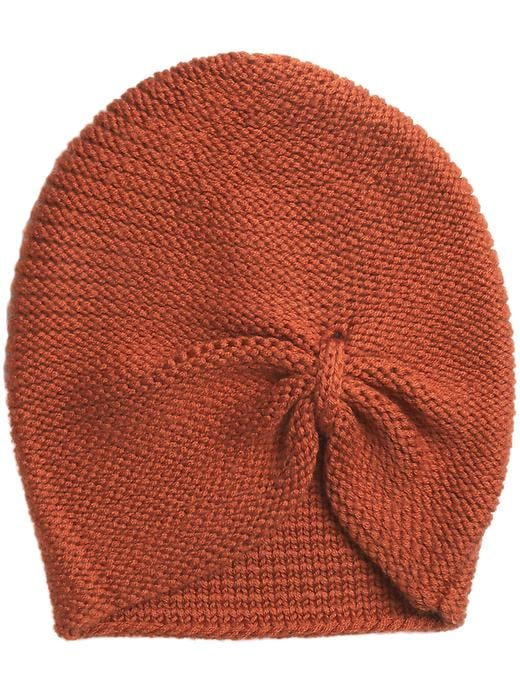 Give your hat look an ultrafeminine twist — emphasis on twist — with Echo's turban hat ($48).