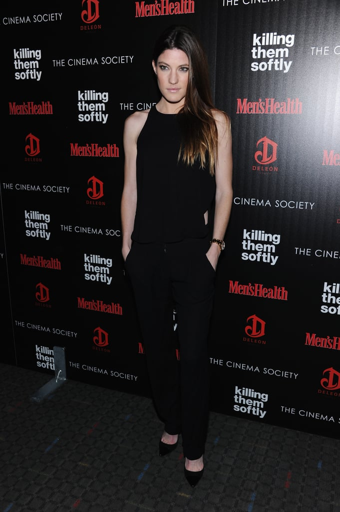 Jennifer Carpenter wore black for the Killing Them Softly screening in NYC.