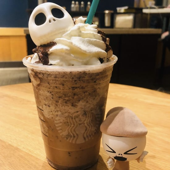 How to Order a Jack Skellington Frappuccino at Starbucks