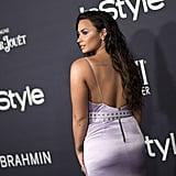 Demi Lovato Rose Finger Tattoo