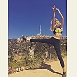 Her Workout Regimen Consists of Hiking, Boxing, and Barre