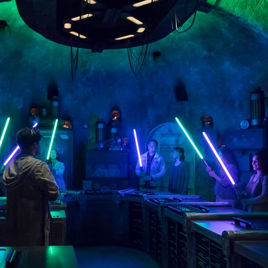 How Do You Make a Lightsaber at Star Wars: Galaxy's Edge?