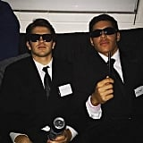 Agent J and Agent K From Men in Black