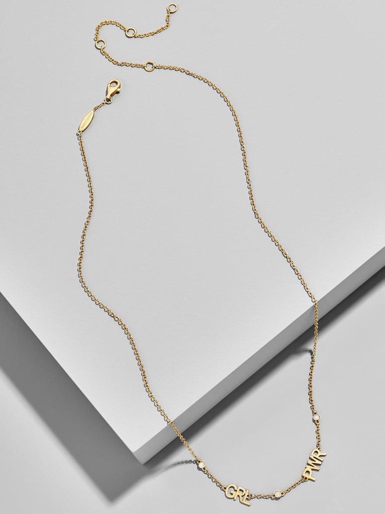 BaubleBar Girl Power Everyday Fine Necklace
