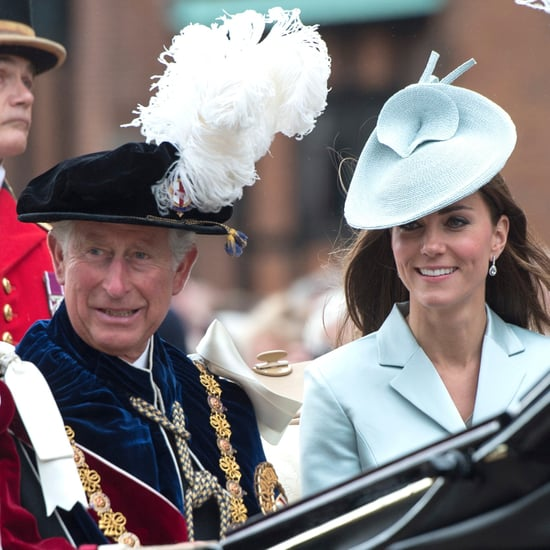 Pictures of Duchess of Cambridge With Prince Charles