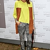 Olivia Palermo attended Topshop Unique.